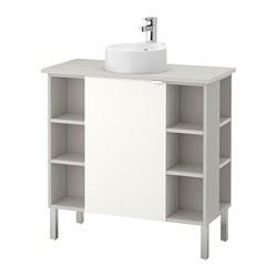 LILLÅNGEN/VISKAN /GUTVIKEN Élément pour lavabo à 1 porte/4 élément complémentaire