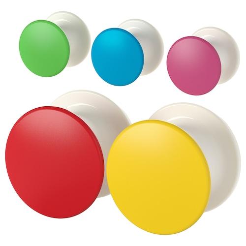 LOSJÖN patère multicolore 1 kg 5 pièces
