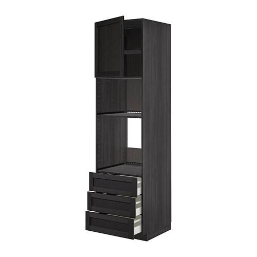 METOD Élément Haut Pour Fourmicroondes Avec Porte Tiroirs IKEA - Four avec porte tiroir