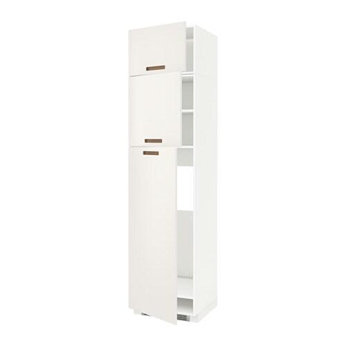 metod armoire pour r frig rateur 3 portes blanc blanc. Black Bedroom Furniture Sets. Home Design Ideas