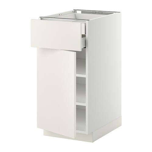 metod maximera l ment bas porte face tbls 2 tiroirs bas blanc veddinge blanc 40x60 cm ikea. Black Bedroom Furniture Sets. Home Design Ideas