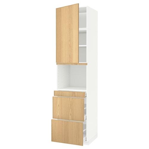 METOD / MAXIMERA armoire micro-ondes av porte/3 tir