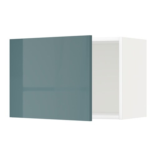 metod l ment mural blanc kallarp gris turquoise ultra brillant 60x40 cm ikea. Black Bedroom Furniture Sets. Home Design Ideas