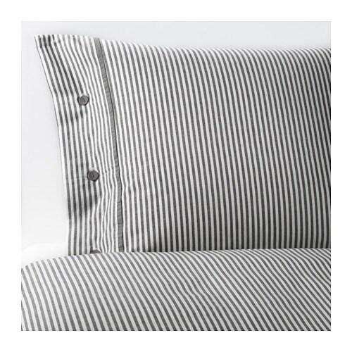 nyponros housse de couette et taie d 39 oreiller 150x200 50x60 cm ikea. Black Bedroom Furniture Sets. Home Design Ideas