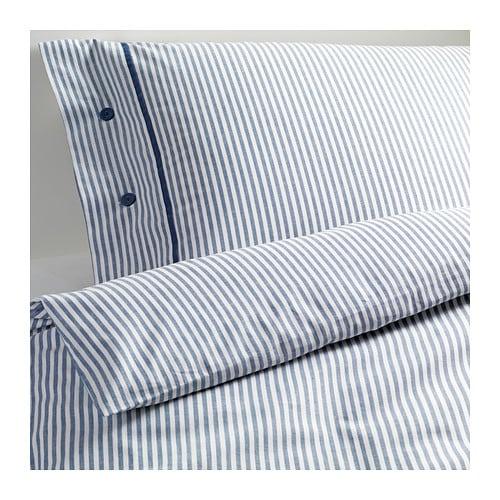 nyponros housse de couette et 2 taies d 39 oreiller 240x220 50x60 cm ikea. Black Bedroom Furniture Sets. Home Design Ideas