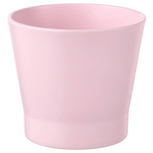 PAPAJA cache-pot rose clair 9.5 cm 11 cm 9 cm 9 cm