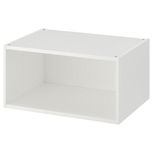 PLATSA structure blanc 80 cm 55 cm 40 cm