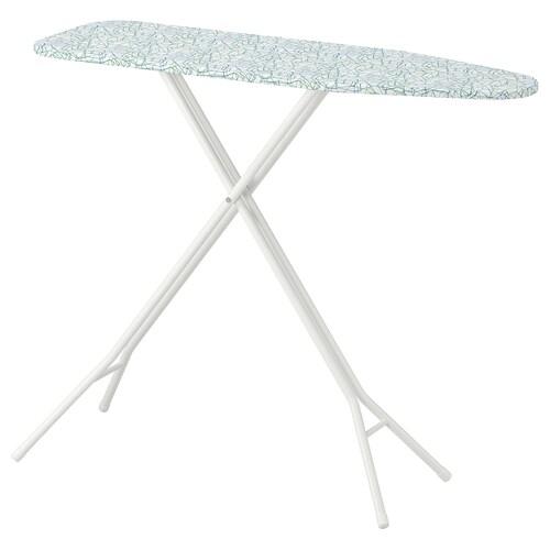 RUTER table à repasser blanc 108 cm 33 cm 60 cm 89 cm
