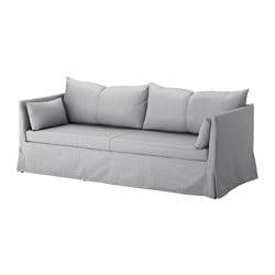 SANDBACKEN canapé 3 places, Frillestad gris clair