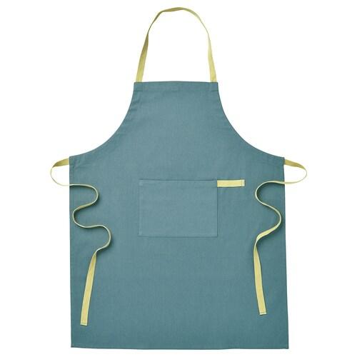 SANDVIVA tablier bleu 85 cm 65 cm