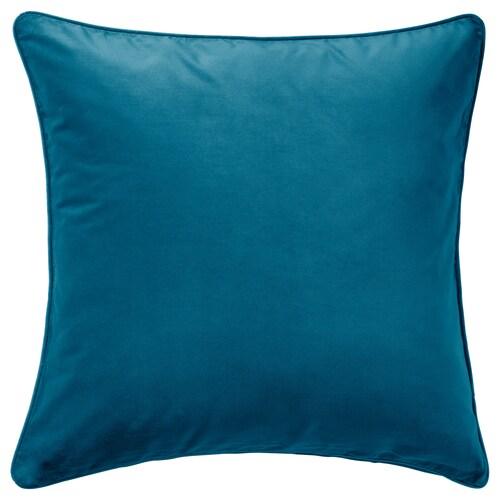 SANELA housse de coussin turquoise foncé 65 cm 65 cm