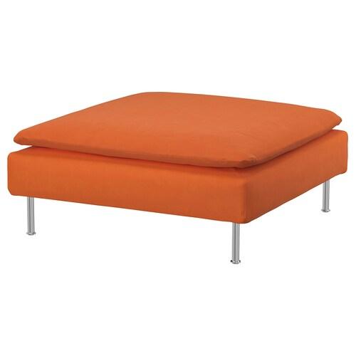 SÖDERHAMN repose-pieds Samsta orange 93 cm 93 cm 40 cm