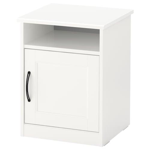 SONGESAND table de chevet blanc 42 cm 40 cm 55 cm 11 cm