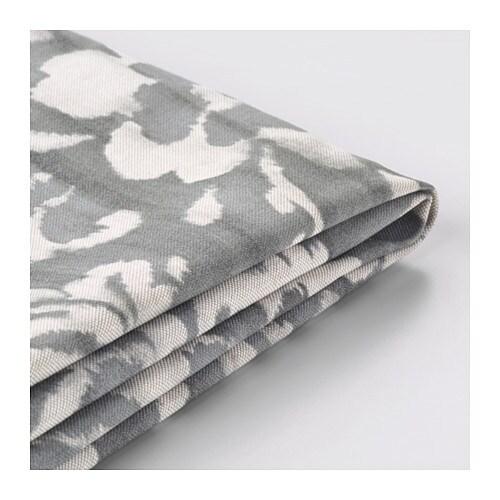 stocksund housse de canap 2 pla gris hovsten blanc ikea. Black Bedroom Furniture Sets. Home Design Ideas
