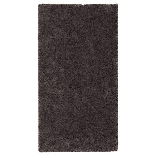 STOENSE tapis, poils ras gris foncé 150 cm 80 cm 18 mm 1.20 m² 2560 g/m² 1490 g/m² 15 mm