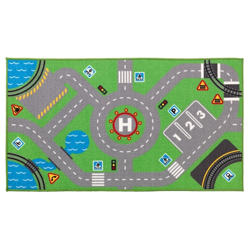 STORABO tapis vert 133 cm 75 cm 0.99 m²