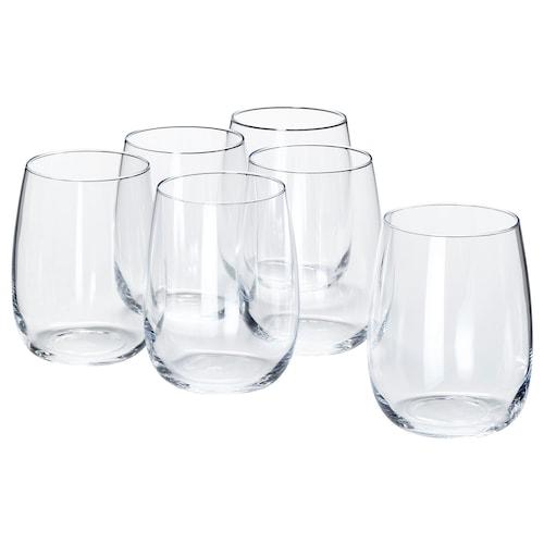 STORSINT verre verre transparent 10 cm 37 cl 6 pièces