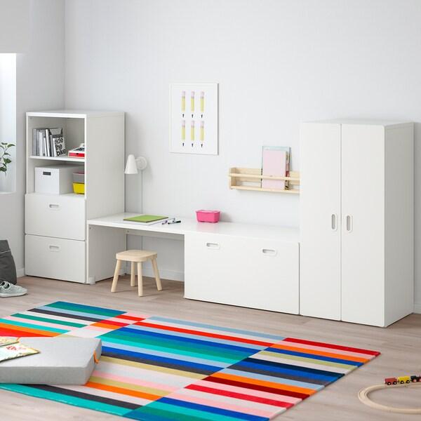 STUVA / FRITIDS combinaison de rangement blanc/blanc 300 cm 50 cm 128 cm