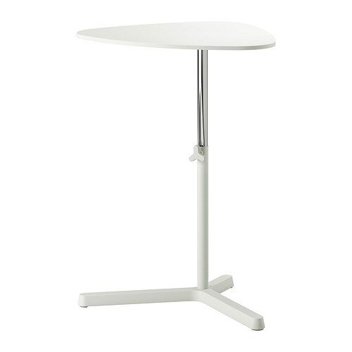 Svart sen support pour ordinateur portable blanc ikea - Table de ventilation pour pc portable ...