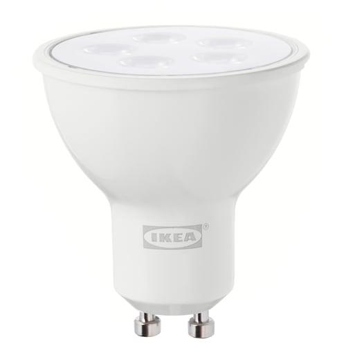 TRÅDFRI ampoule LED GU10 400 lumen sans fil à variateur d'intensité blanc chaud 400 lm 2700 Kelvin
