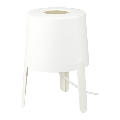 Ikea Lampe De Table.Tvars Lampe De Table Blanc