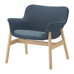 VEDBO fauteuil, Gunnared bleu