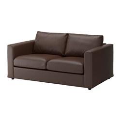 VIMLE canapé 2 places, Farsta, brun foncé