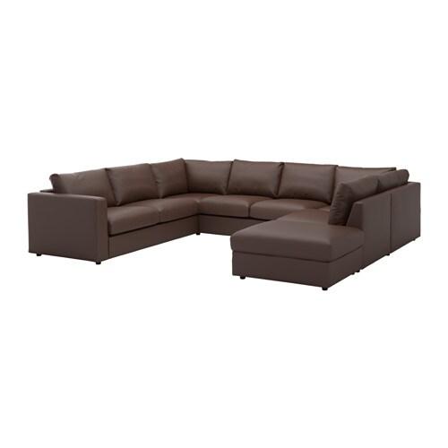 vimle canap en u 6 places avec bout ouvert farsta. Black Bedroom Furniture Sets. Home Design Ideas