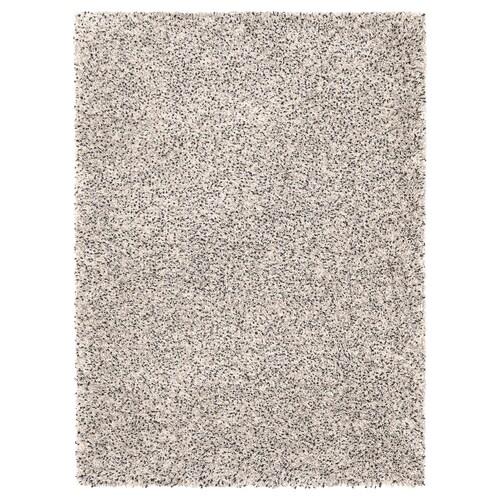 VINDUM tapis, poils hauts blanc 180 cm 133 cm 30 mm 2.39 m² 4180 g/m² 2400 g/m² 26 mm