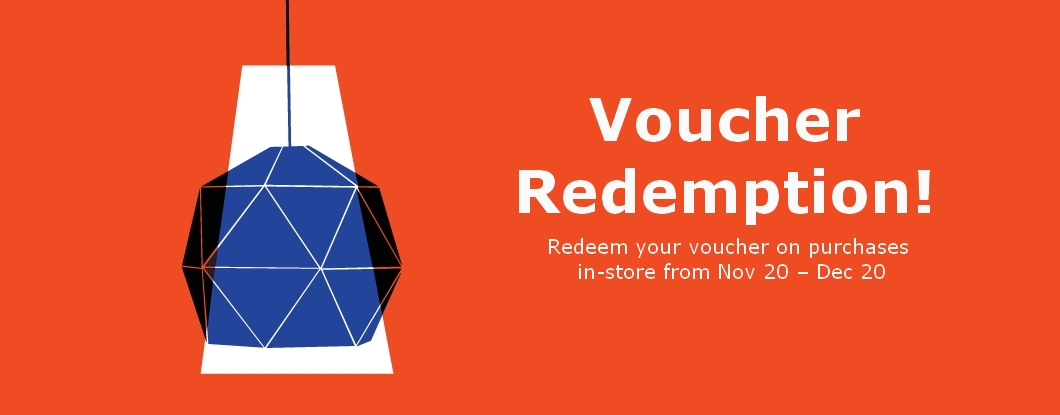 Redeem your vouchers today!
