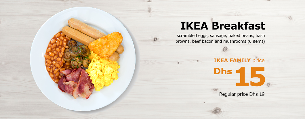 IKEA Breakfast