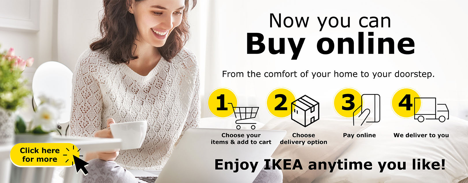 IKEA ecommerce is available!