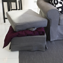 Go to footstool and pouffes