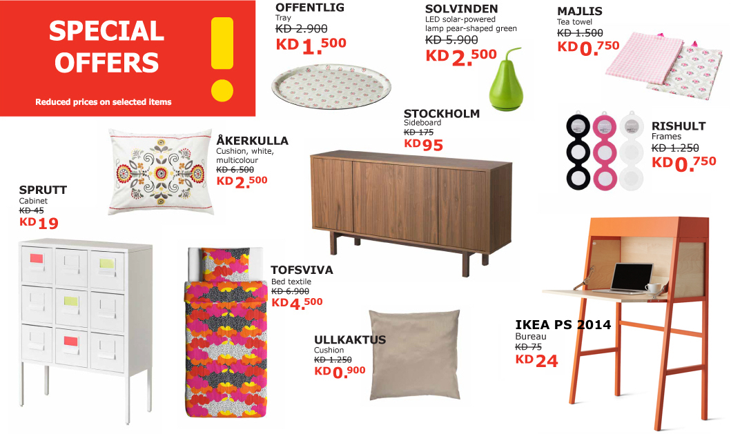 special offers in store IKEA Kuwait