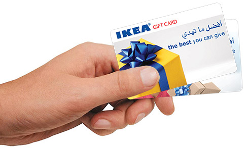 ikea gift card ikea. Black Bedroom Furniture Sets. Home Design Ideas