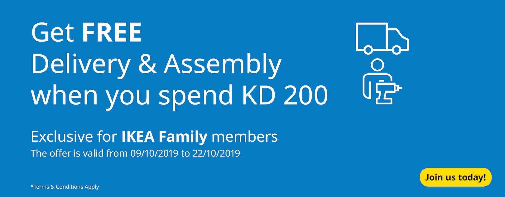 Join our new IKEA FAMILY loyalty club