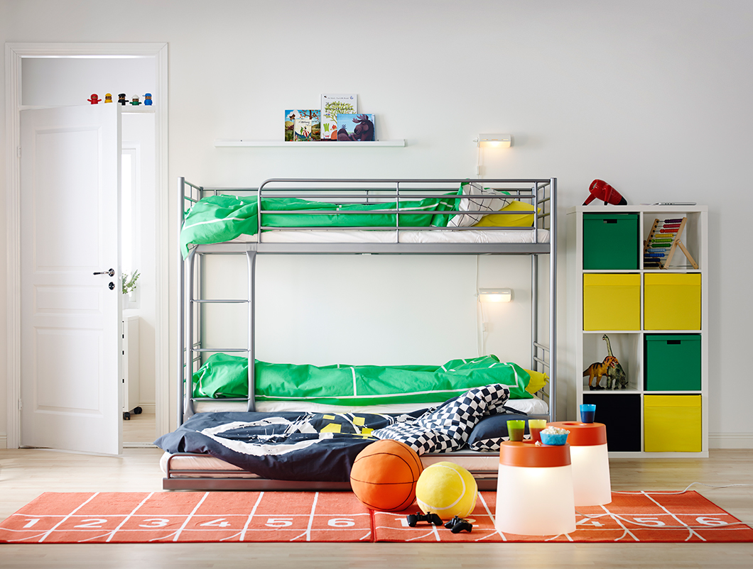 svarta kids bunk bed