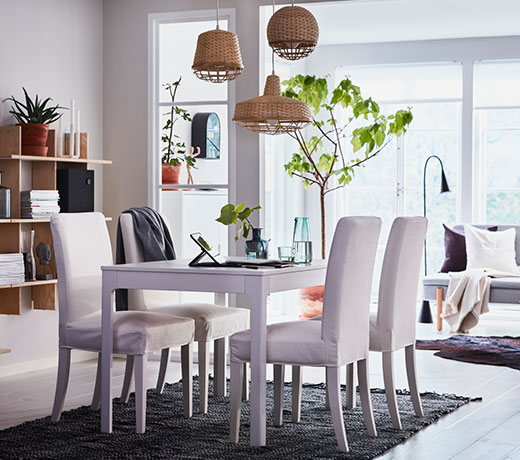EKEDALEN dining table