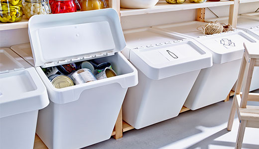 SORTERA waste sorting boxes