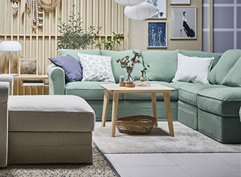 IKEA sofas and armchairs