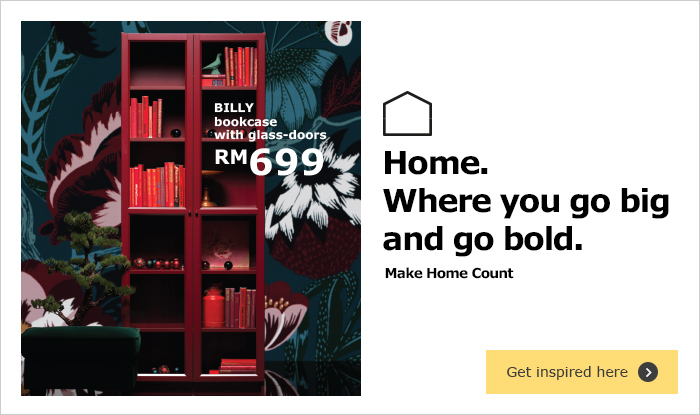 BILLY bookcase in red - IKEA