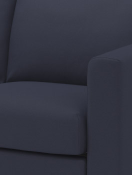 VIMLE dark blue sofa cover