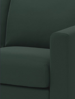 VIMLE dark green sofa cover
