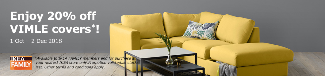 Enjoy 20% off VIMLE couch covers on now!