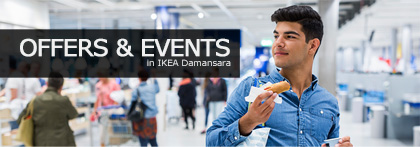 Ikea damansara store information ikea see our offers events sciox Choice Image