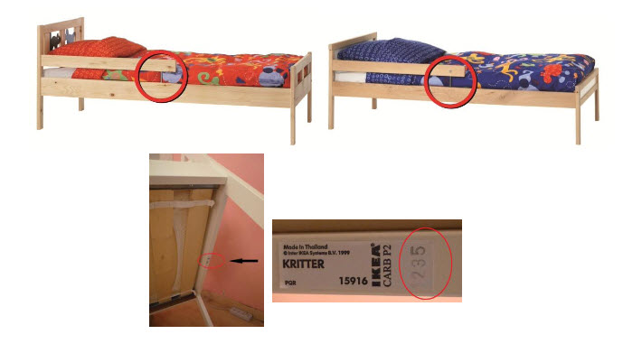 Variera Estante Adicional Ikea ~ IKEA recalls for repair a number of KRITTER and SNIGLAR junior beds