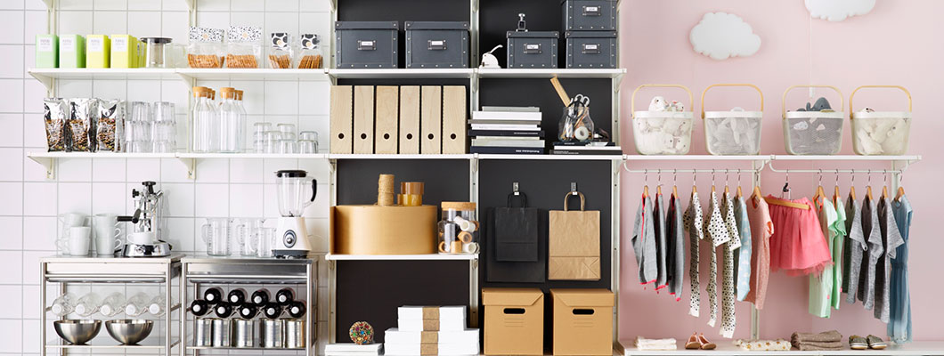 Algot Clothes Storage Systems Ikea