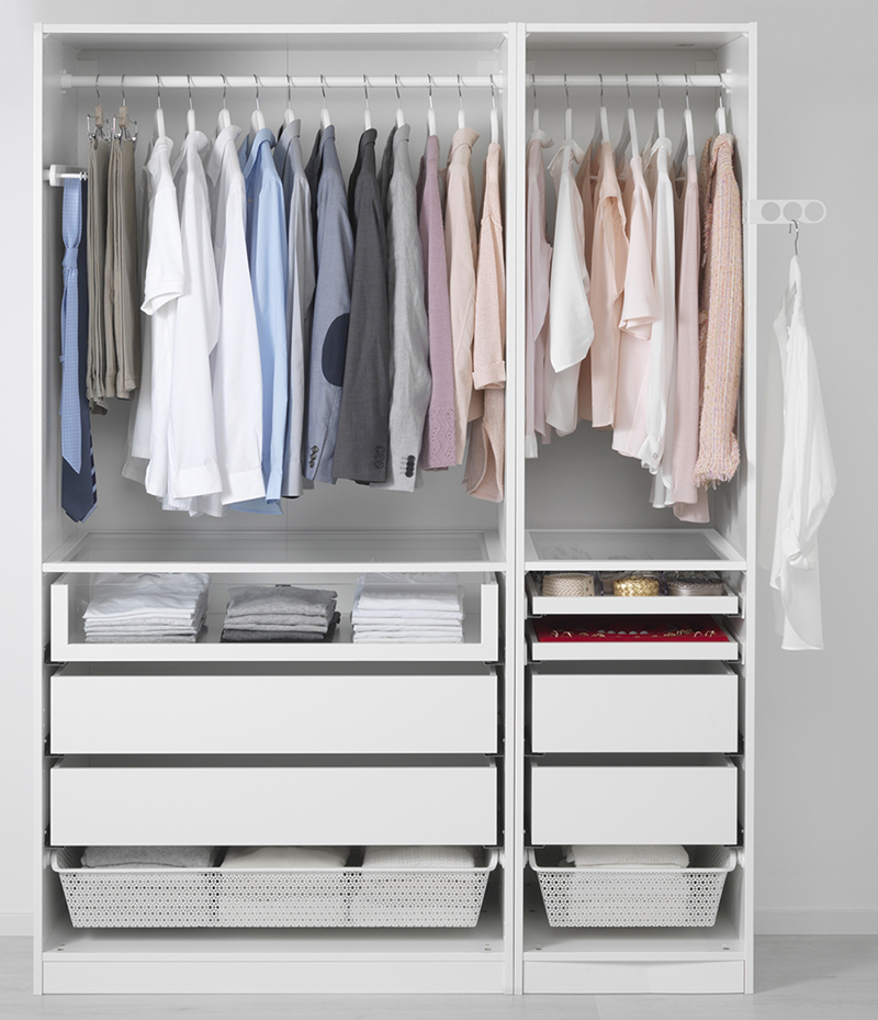 Ikea storage solutions for the for Big w bedroom storage