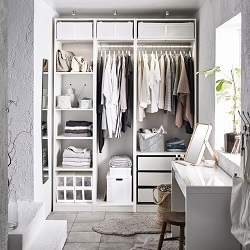 Bedroom storage solutions ikea for Chambre a coucher adulte en solde