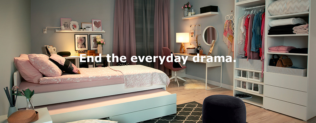 End the everyday drama